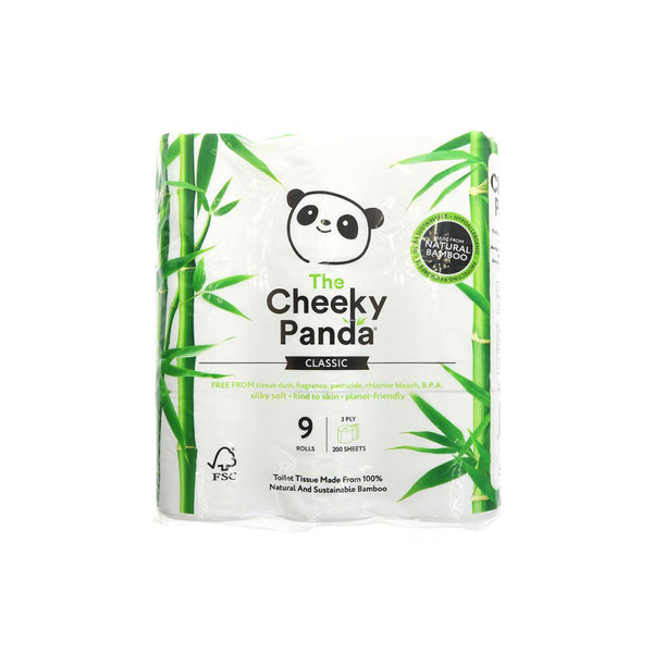 Cheeky Panda Toilet Tissue 9 Pack