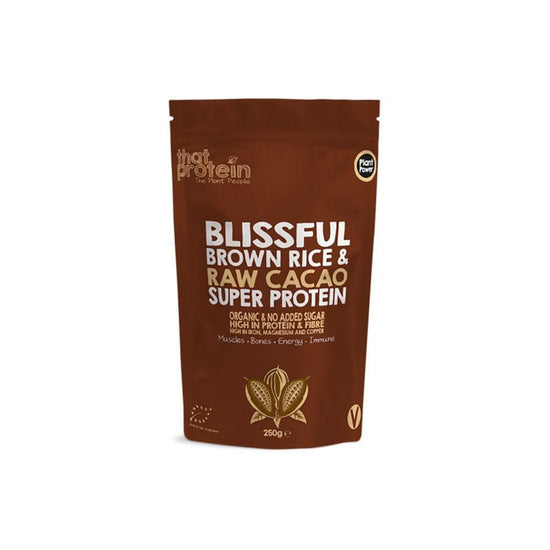That Protein Blissful Brown Rice and Raw Cacao Super Protein Powder (250g)
