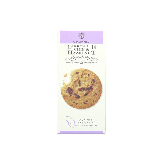 Against The Grain Organic Chocolate Chip & Hazelnut Cookies (150g)