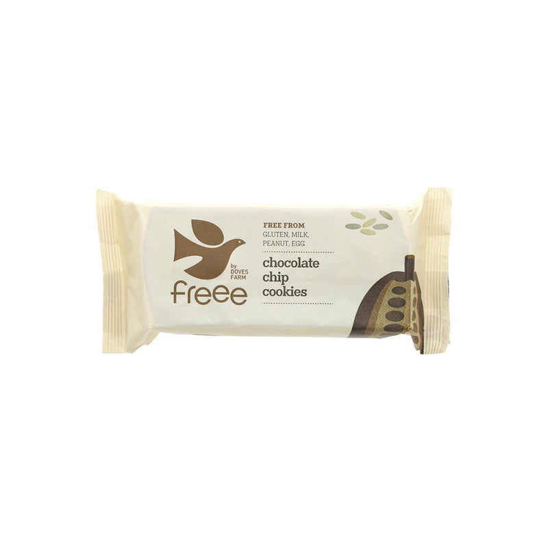 Doves Farm Organic Chocolate Chip Cookies (180g)