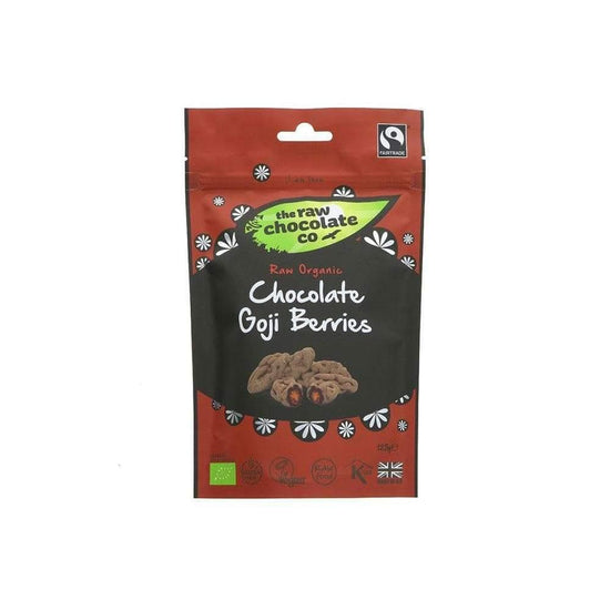 The Raw Chocolate CO Chocolate Covered Goji Berries (125g)