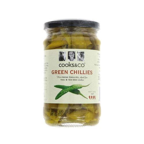 Whole Green Chillies,Antipasti,Cooks and Co