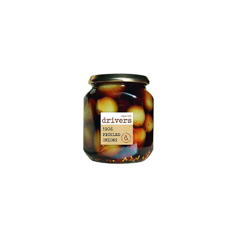 Drivers 1906 Pickled Onions (550g) - Live Well
