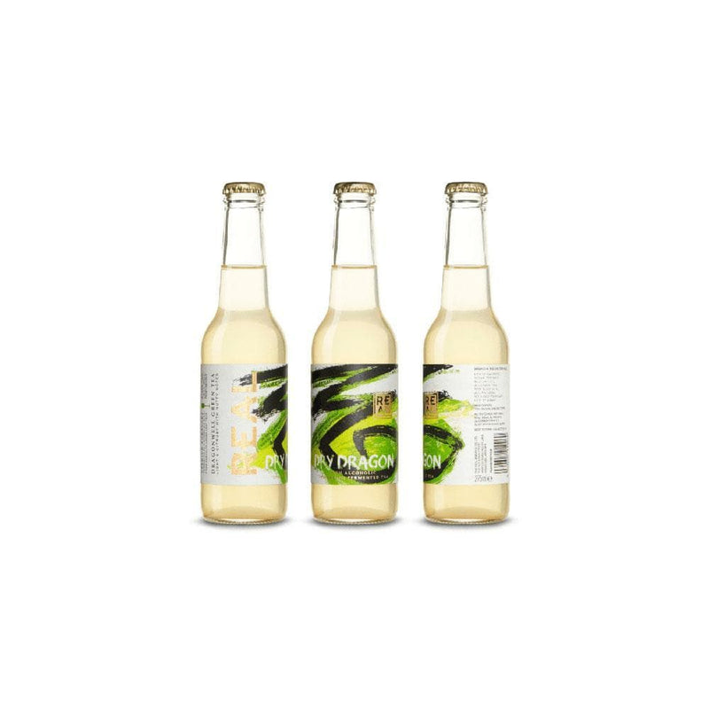 Real Kombucha Dry Dragon  - Case of 6 (275ml)