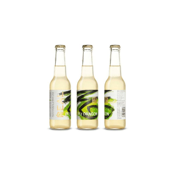 Real Kombucha Dry Dragon  - Case of 12 (330ml)