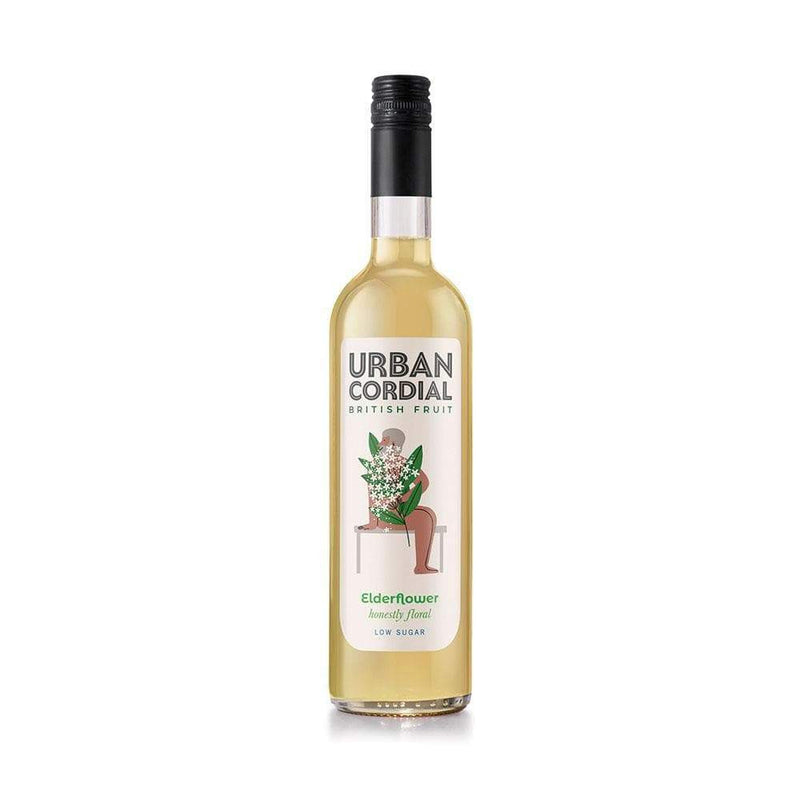 Urban Cordial Elderflower (500ml) - Live Well