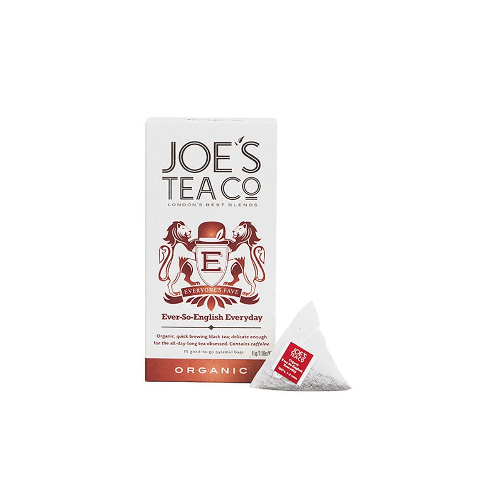 Joe's Tea Organic Ever-So-English Everyday Tea (30g)