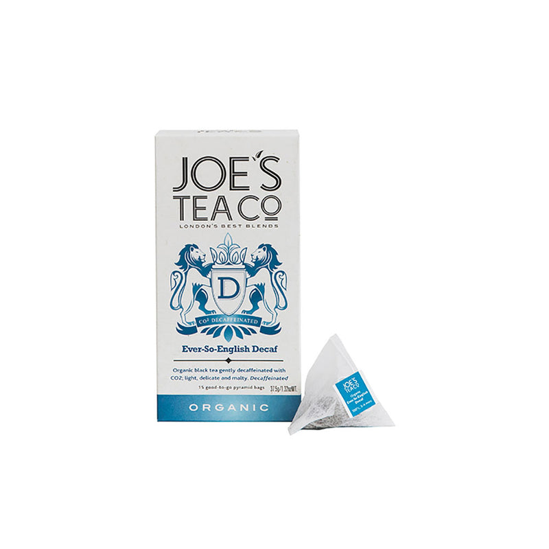 Joe's Tea Organic Ever-So-English Decaf Tea (30g)