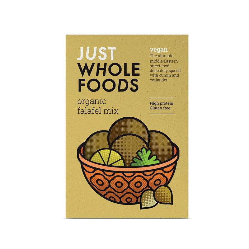 Just Wholefoods Falafel Mix (120g) - Live Well
