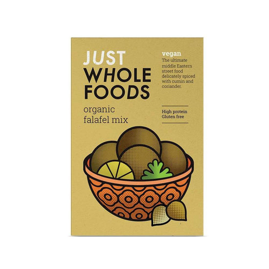 Just Wholefoods Falafel Mix,Falafel,Just Wholefoods