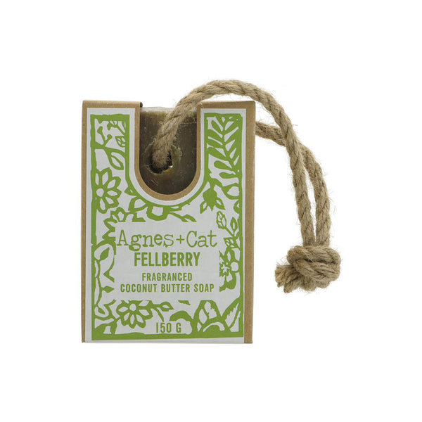 Fellberry Fragranced Soap On A Rope