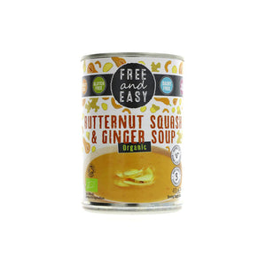 Free and Easy Butternut Squash, Sweet Potato and Turmeric Soup (400g)