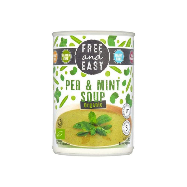 Pea and Mint Soup,Soup,Free and Easy