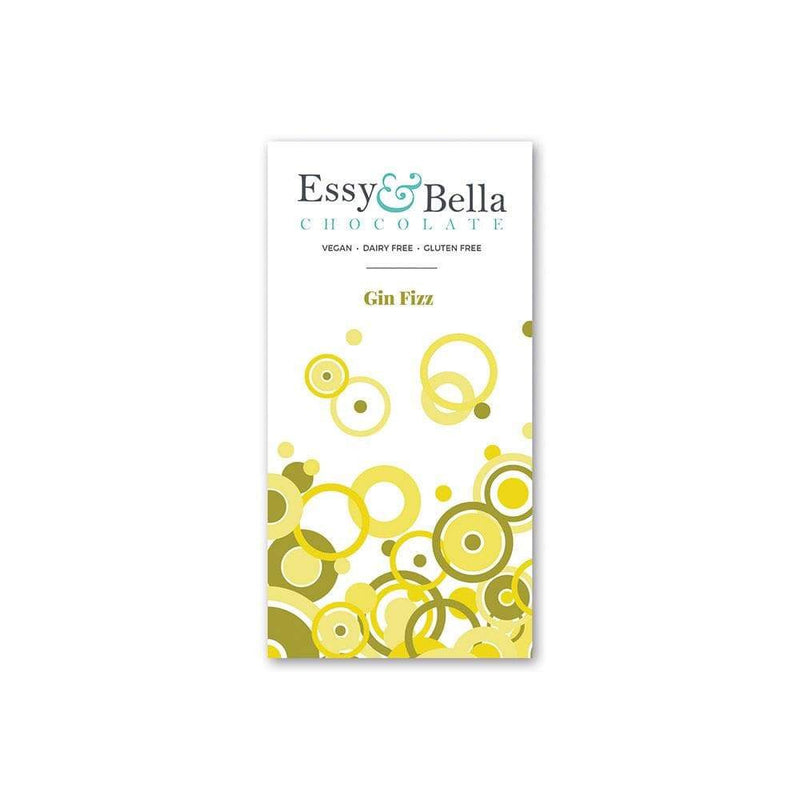 Essy and Bella Gin Fizz Chocolate (100g) - Live Well