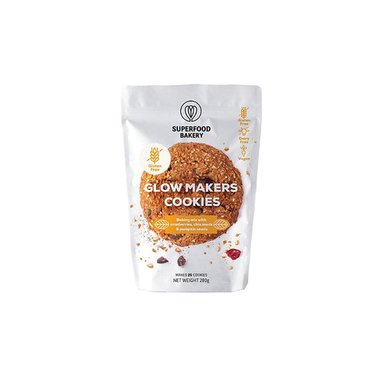 Superfood Bakery Glow Makers Oat & Cranberry Cookie Mix (245g)
