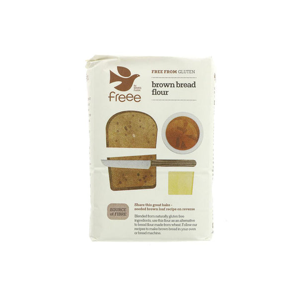 Doves Farm Gluten Free Brown Bread Flour - (1kg)