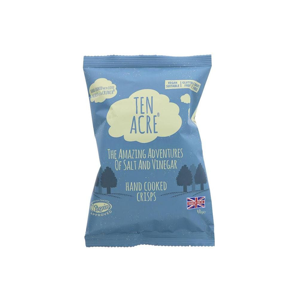 Ten Acre Salt and Vinegar Crisps (40g)