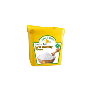 Cakes and Bakes Gluten Free Self Raising Flour - 3kg