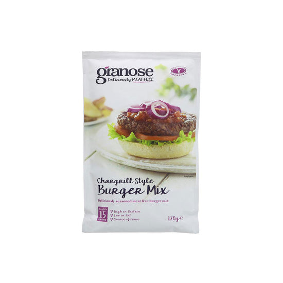 Granose Chargrilled Style Burger Mix (120g)
