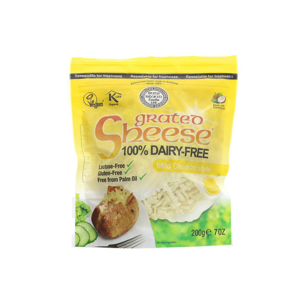 Grated Mild Cheddar Style Cheese (200g)