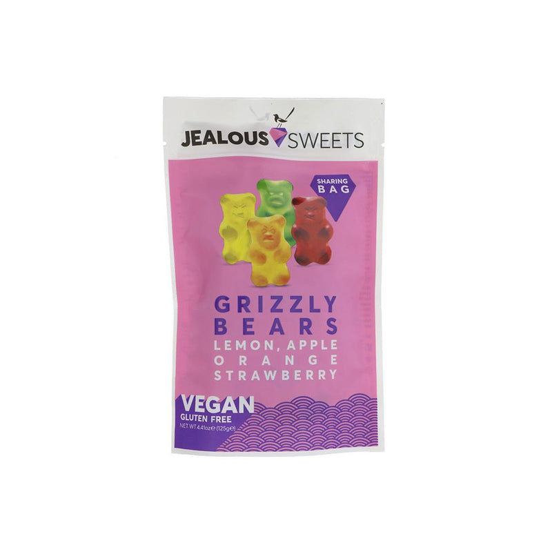 Jealous Sweets Grizzly Bears Sweets - Share Bag (125g)