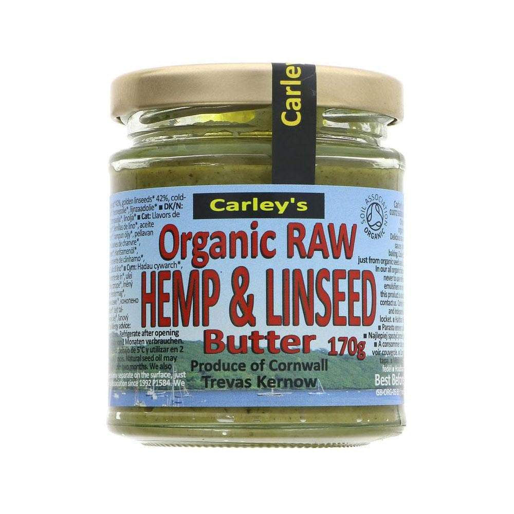 Organic Hemp and Linseed Butter,Nut Butter,Carleys