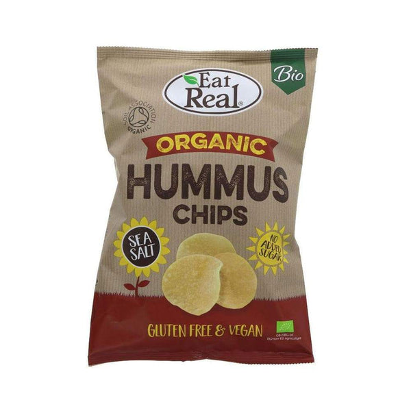 Organic Hummus Sea Salt Chips,Crisps,Eat Real