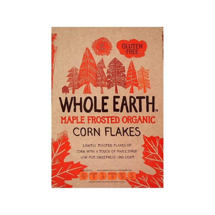 Whole Earth Maple Frosted Flakes,Cereal,Whole Earth