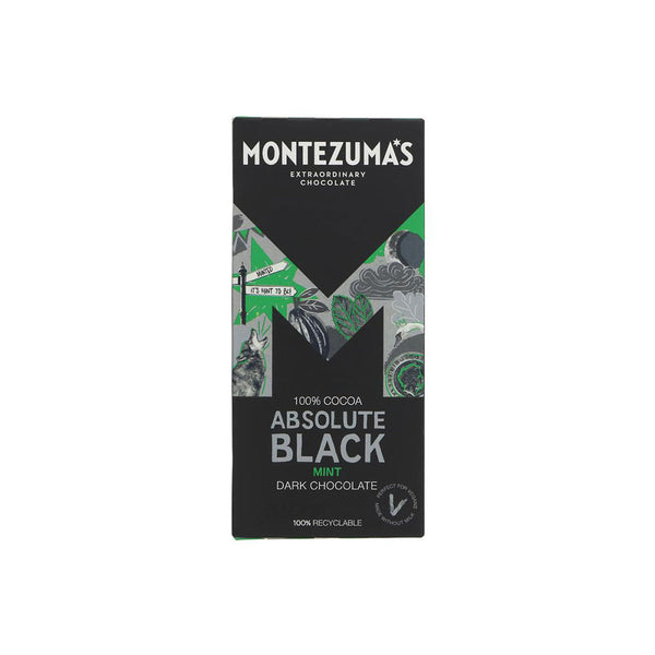 Montezumas Absolute Black with Mint (90g)