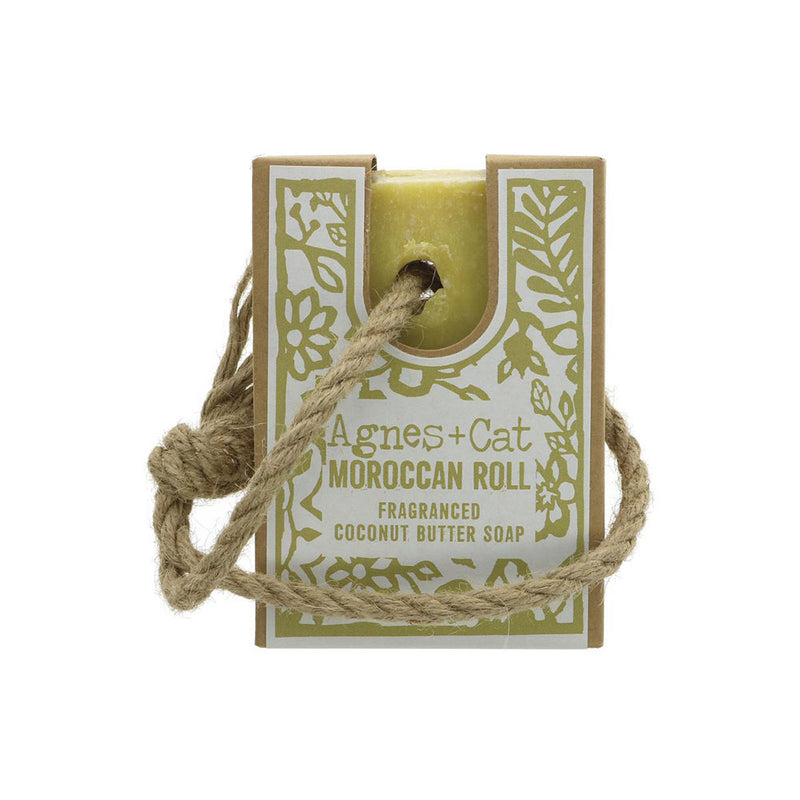 Agnes and Cat Moroccan Fragranced Soap On A Rope
