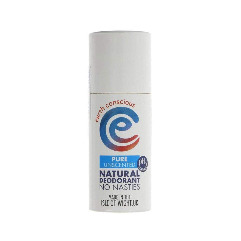 Earth Conscious Pure Natural Deodorant Stick (60g) - Live Well