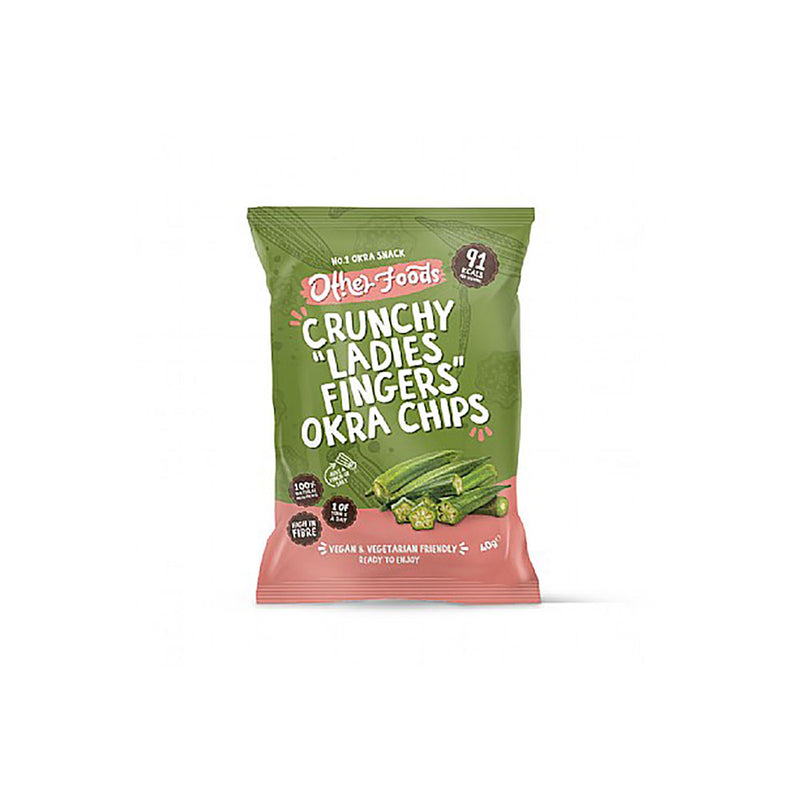 Other Foods Organic Okra Crisps (40g)