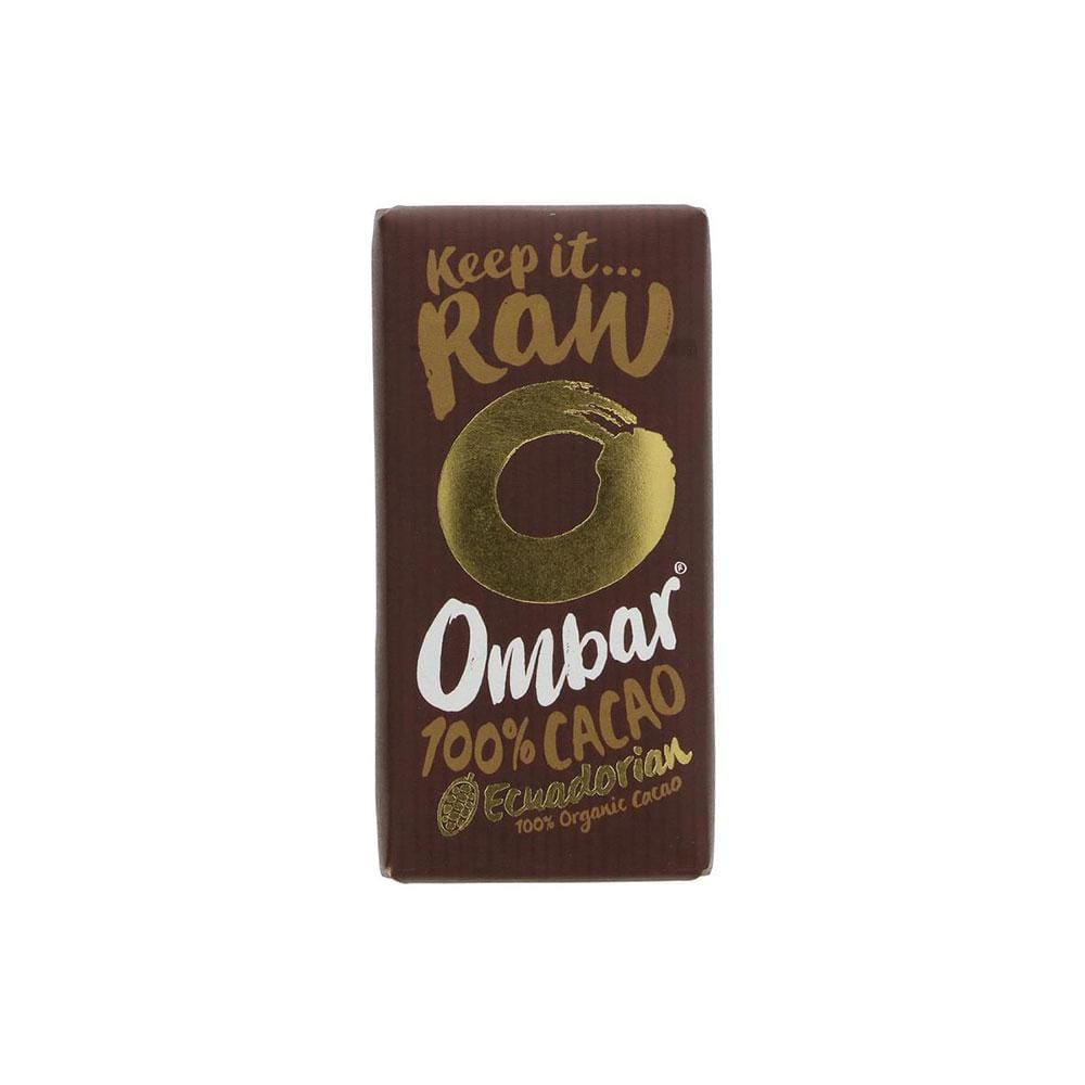Ombar Organic 100% Raw Chocolate (35g)