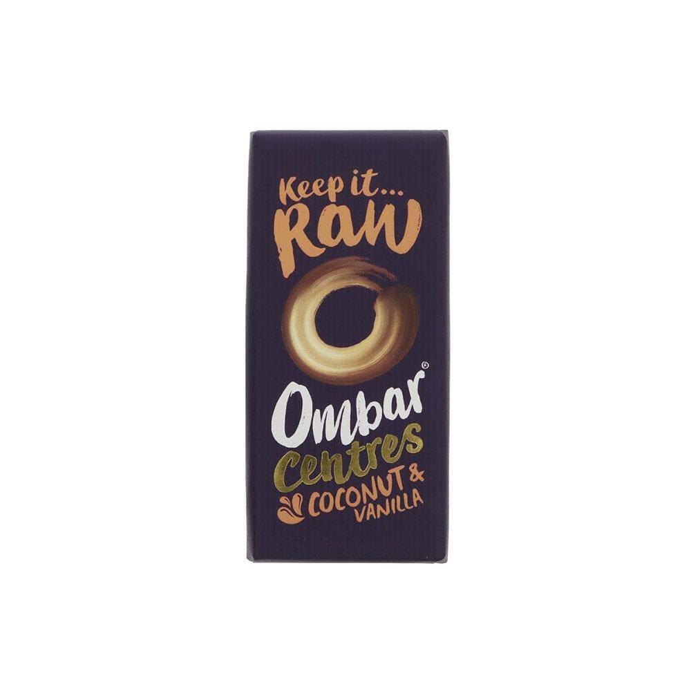 Ombar Organic Raw Chocolate Coconut & Vanilla Bar (70g)