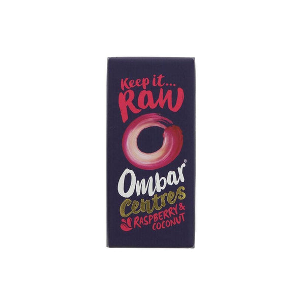 Ombar Raw Chocolate Raspberry & Coconut Bar