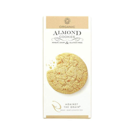 Organic Almond Cookies,Cookies,Against The Grain