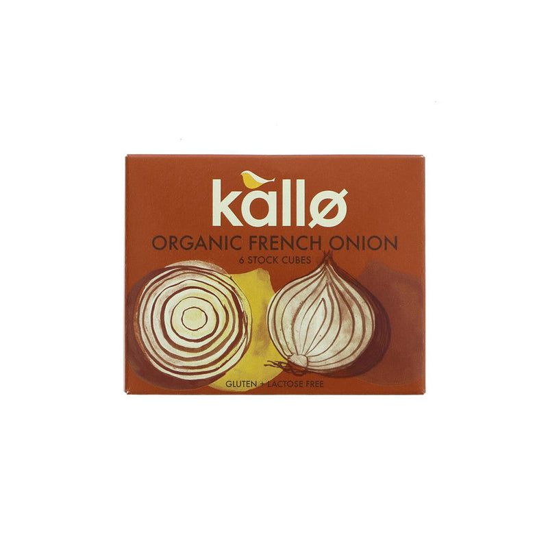 Kallo Organic French Onion Stock Cubes (66g)