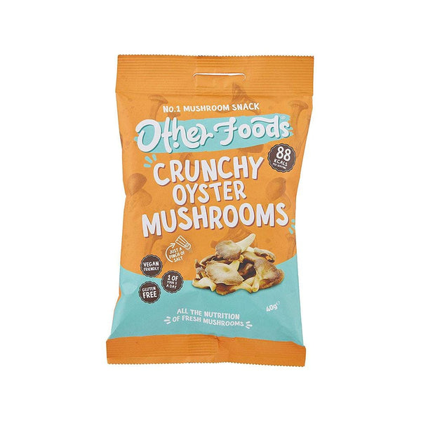Crunchy Oyster Mushrooms