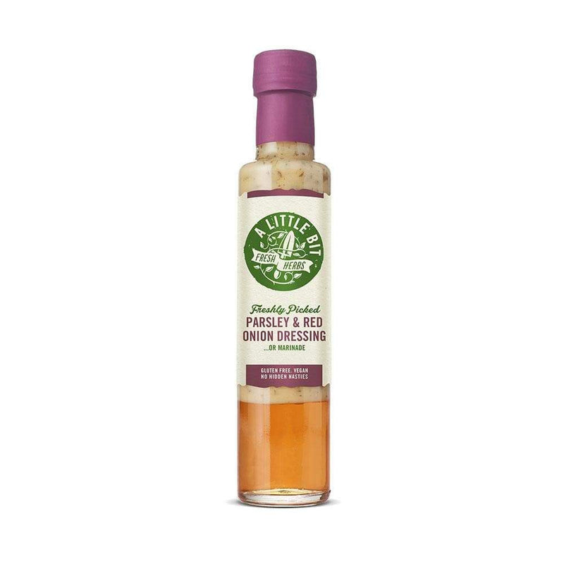 A Little Bit Food Co. Parsley and Red Onion Dressing (250ml) - Live Well