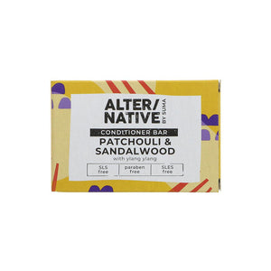 Alternative by Suma Patchouli and Sandlewood Conditioner Bar (90g)