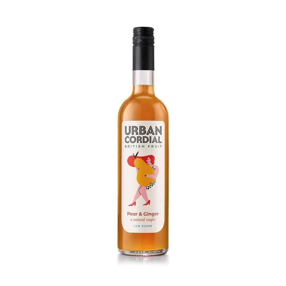 Urban Cordial Pear and Ginger (500ml) - Live Well