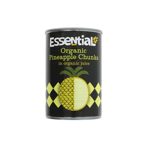 Essential Organic Trading Tinned Pineapple Chunks (400g)