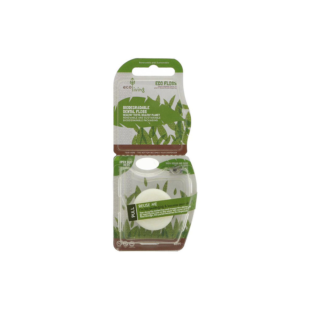 ecoLiving Biodregradable Plant Based Dental Floss
