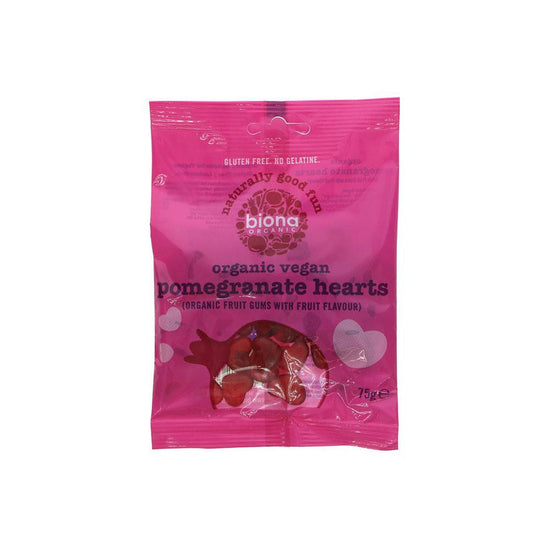 Biona Organic Pomegranate Heart Sweets (75g)