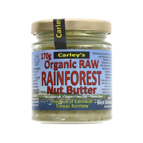 Organic Rainforest Nut Butter,Nut Butter,Carleys
