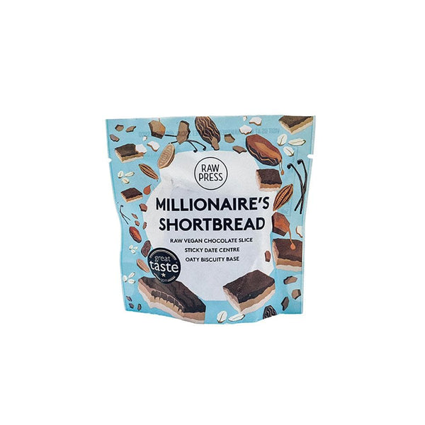 Raw Press Millionaires Shortbread (65g)