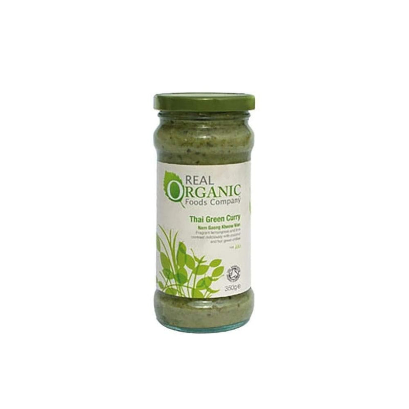 Real Organic Green Curry Sauce (335g) - Live Well