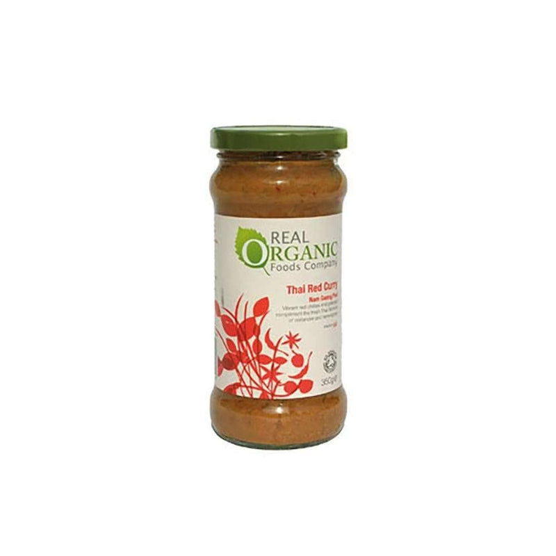 Real Organic Thai Red Curry Sauce (335g) - Live Well