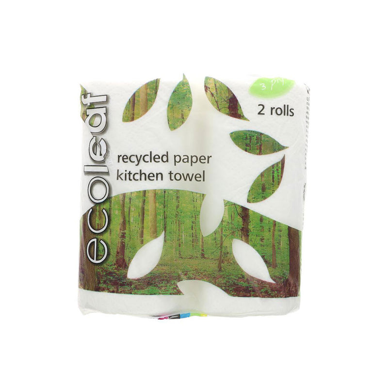 Eco Leaf Recycled Kitchen Roll (2)