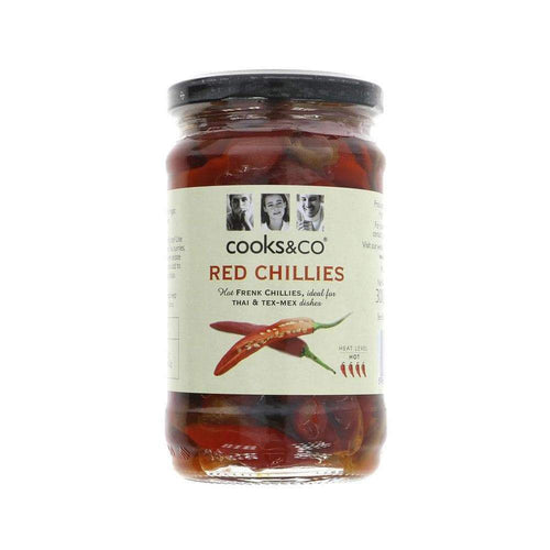 Whole Red Chillies,Chillis,Cooks and Co